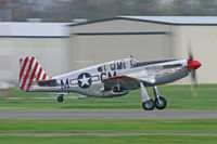 N251MX @ DTN - Collings foundation P-51 at Shreveport Downtown Airport