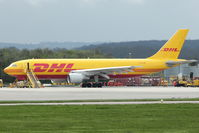 D-AEAP @ EGNX - DHL 1994 Airbus A300B4-622R, c/n: 724 at East Midlands
