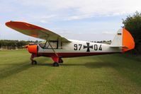 G-APVF @ X5FB - Putzer Elster B, Fishburn Airfield, September 2005. - by Malcolm Clarke