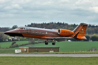 CS-DTH @ EGGW - 2008 Learjet LJ60XR, c/n: 60-362 of Perfect Air at Luton - by Terry Fletcher