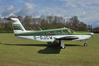 G-OJCW @ EGTH - 1979 Piper PA-32RT-300 Lance II, c/n: 32R-7985062 at Old Warden