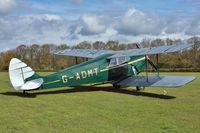 G-ADMT - 1936 De Havilland DH-87B Hornet Moth, c/n: 8093 at Old Warden