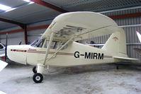 G-MIRM @ X4WM - resident aircraft - by Chris Hall