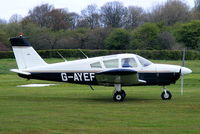 G-AYEF @ EGCB - Pegasus flying group - by Chris Hall