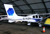 G-HJZN @ EGCB - privately owned - by Chris Hall