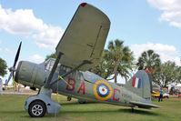 G-BCWL @ LAL - (V9281/RU-M), 1942 Westland Lysander IIIA, c/n: 1244 at Florida Air Museum