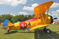 N59659 @ LAL - 1942 Boeing A75N1(PT17), c/n: 75-4226 ex USAF 42-16063 at 2012 Sun N Fun