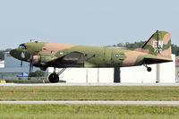 N2805J @ LAL - 1944 Douglas DC3C-R-1830-90C, c/n: 20835 at 2012 Sun N Fun