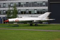 473 @ EHLE - This MiG-21 on display at Aviodrome on Lelystad Airport - by lkuipers