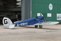 G-EBHX - Shuttleworth Collection at Old Warden