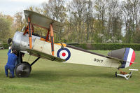 G-EBKY - Shuttleworth Collection at Old Warden