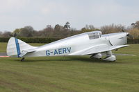 G-AERV - Visitor to Shuttleworth Collection at Old Warden
