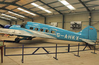 G-AHKX - Shuttleworth Collection at Old Warden