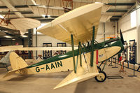 G-AAIN - Shuttleworth Collection at Old Warden