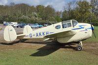 G-AKKH - Visitor to Shuttleworth Collection at Old Warden