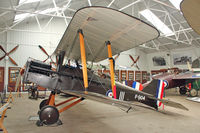G-EBIA - Shuttleworth Collection at Old Warden