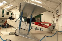 G-EBWD - Shuttleworth Collection at Old Warden