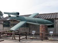 BAPC235 @ EDEN CAMP - German V-1 Missile, Eden Camp, North Yorkshire UK, September 2005. - by Malcolm Clarke