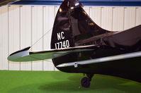 N17740 @ KRIC - VA Aviation Museum - by Ronald Barker
