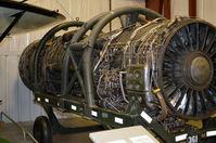 61-7968 @ KRIC - J-58 engine VA Aviation Museum - by Ronald Barker