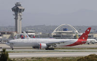 VH-VPF @ KLAX - Taxiing to gate at LAX - by Todd Royer