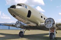 N134D @ ZPH - Project to restore the former USAF 42-68804 DC3 - that also operated for American and Ozark Airlines