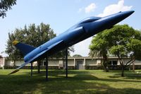 138608 - F-11A at Admiral Farragut Academy - by Florida Metal