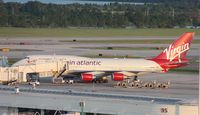 G-VLIP @ MCO - Virgin 747-400