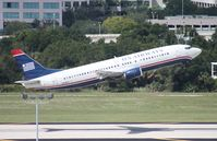 N418US @ TPA - US Airways 737