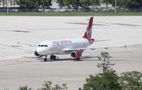 N837VA @ MCO - Virgin America A320