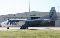 UK-11418 @ MCO - Avia Leasing AN-12 at Galaxy Aviation
