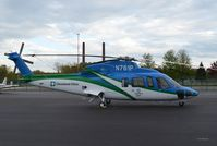 N761P @ BKL - N761P, seen in the Cleveland Clinic's new Lifeflight colors. - by aeroplanepics0112