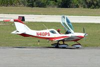 N413PS @ DED - At Deland Airport, Florida