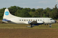 N1022C @ X04 - At Apopka Airport, Florida in false Pan Am colours - actually was deliverd to American Airlines in 1949