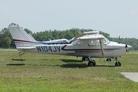 N104JV @ X50 - At Massey Ranch Airpark , Florida