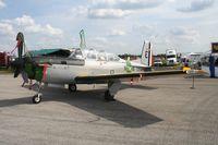 164172 @ LAL - T-34C Mentor in retro Marine colors
