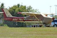 N8678U @ EVB - At New Smyrna Beach Airport