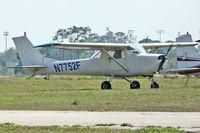 N7752F @ EVB - At New Smyrna Beach Airport