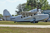 N119AA @ EVB - At New Smyrna Beach Airport - by Terry Fletcher