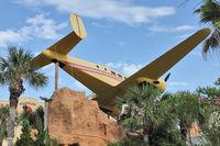 N9561 - Beech UC-45J, c/n: 456 ex Bu 63705 ends its life as feature attraction on Hawaiian Falls mini-Golf on Daytona Beach Shores