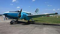 N14PW @ LAL - Single tail Beech 18/C-45