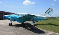 N14PW @ LAL - Rare single tail Beech 18/C-45 with a nose wheel also