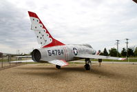 54-1784 @ KBMI - At the Prairie Aviation Museum - by Glenn E. Chatfield