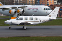 LN-NAB @ ESSB - Operated by Blom - by Roger Andreasson