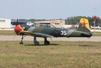 N116RL @ LAL - Nanchang CJ-6A - by Florida Metal
