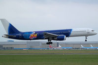 G-ZAPU @ EHAM - Landing on runway R36 of Amsterdam Airport - by Willem Göebel