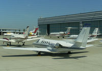 M-AGGY @ LOWW - Private Cessna 550 - by Thomas Ranner