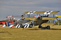 G-CDXR @ LFFQ - with Nieuport 17