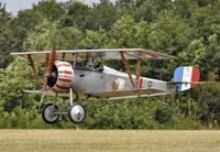G-BWMJ @ LFFQ - Nieuport Scout