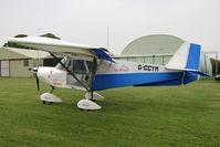 G-CCYM @ X5FB - Skyranger 912-2, Fishburn Airfield, September 2008. - by Malcolm Clarke